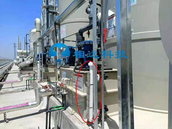 光伏半导体废水处理设备防腐式PP磁翻板液位计