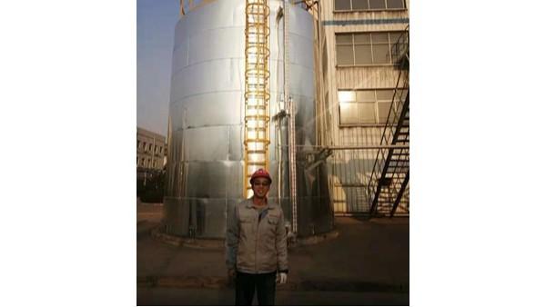 陕西焦化厂氨水罐磁易胜博app易胜博app面板不翻现场处理。