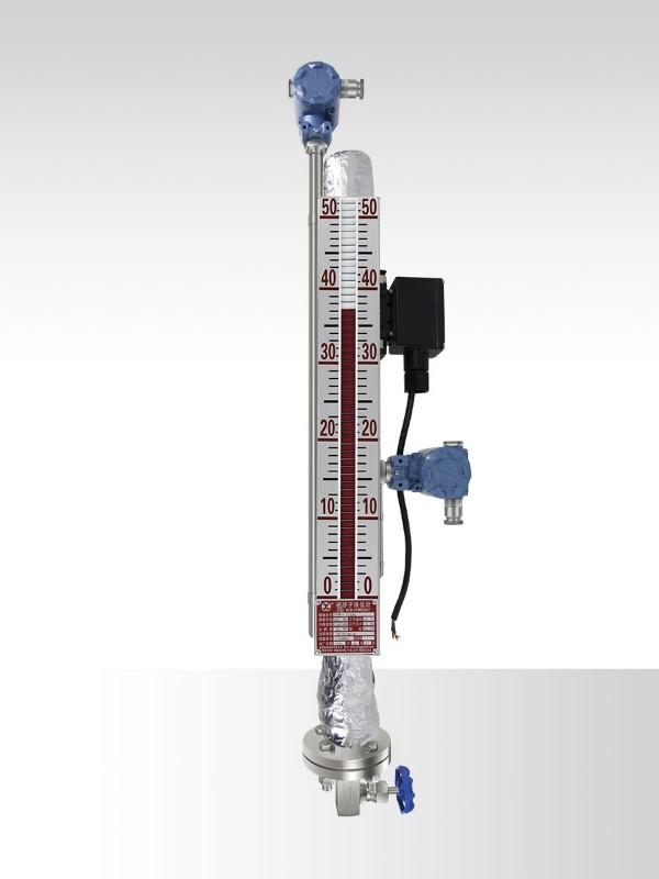 侧装电伴热磁翻板液位计