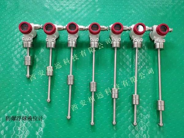 防爆浮球液位计螺纹安装-支持特殊定制